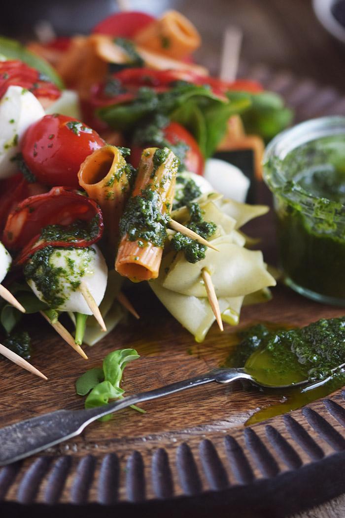 Pasta Salat Spiesse - Pasta Salad Skewers (21)