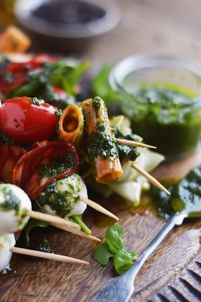Pasta Salat Spiesse - Pasta Salad Skewers (23)