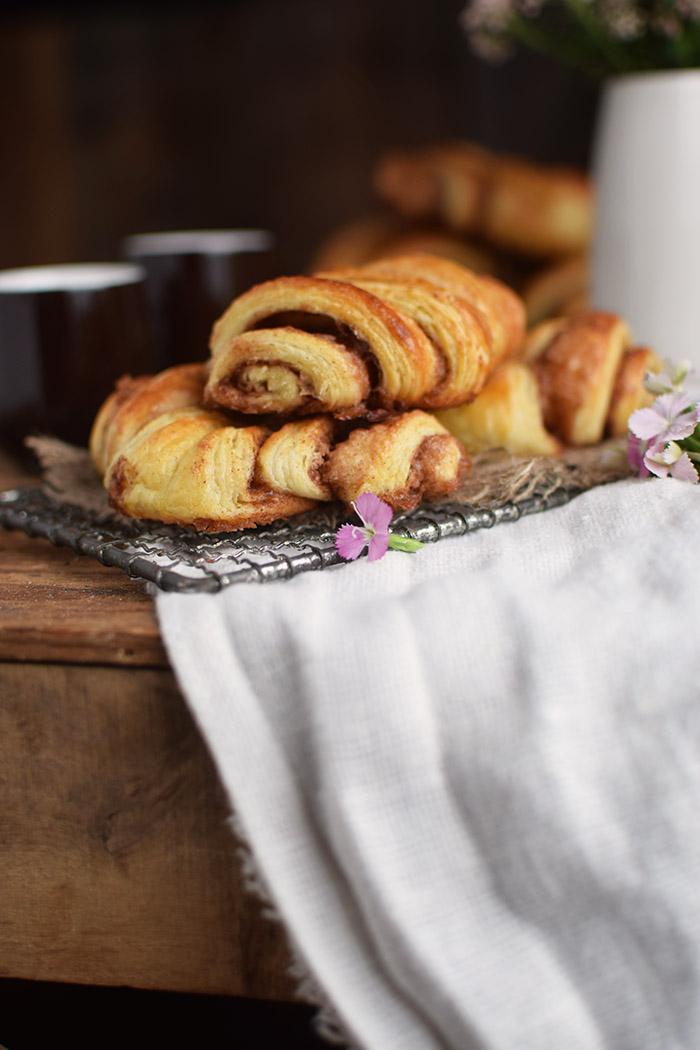 Zimtschnecken - Franzbroetchen - Hamburg Cinnamon Pastry Rolls (15)