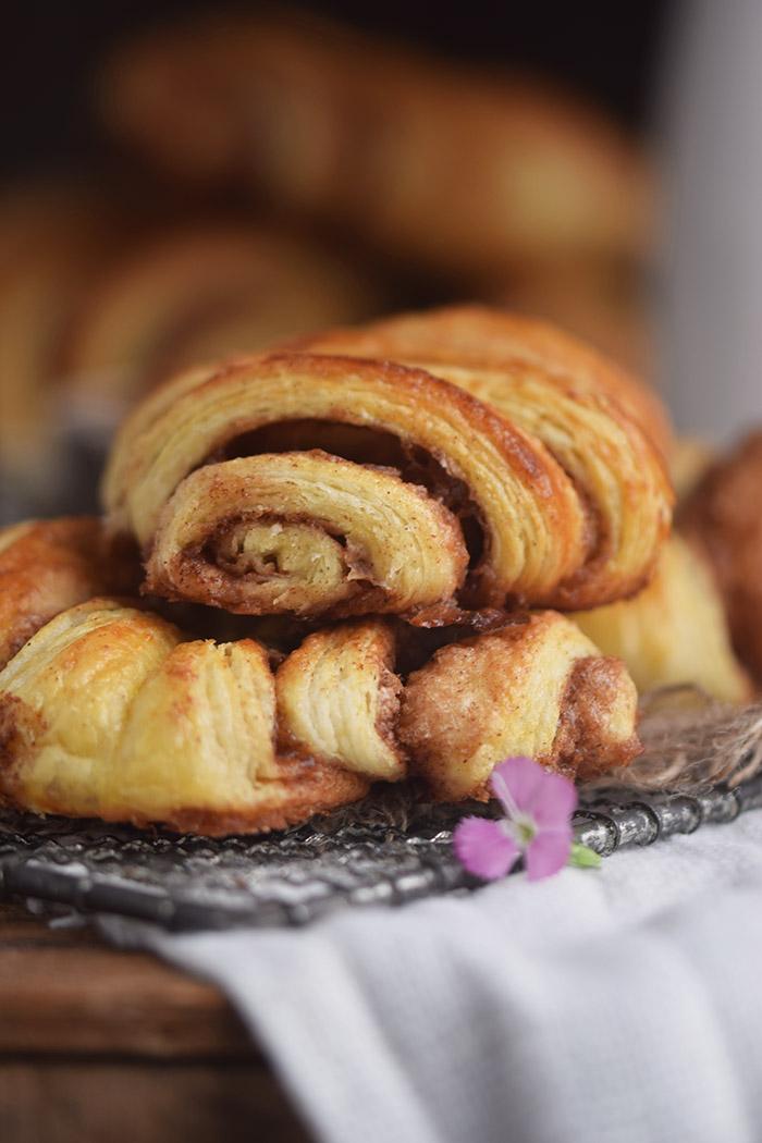 Zimtschnecken - Franzbroetchen - Hamburg Cinnamon Pastry Rolls (16)