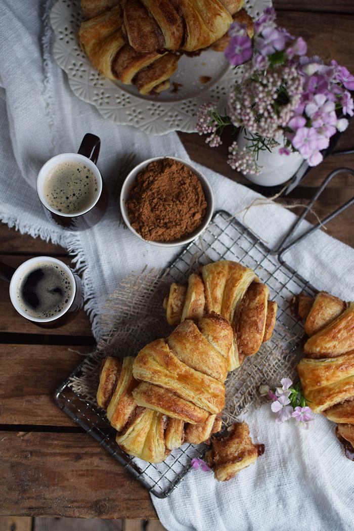 Zimtschnecken - Franzbroetchen - Hamburg Cinnamon Pastry Rolls (20)