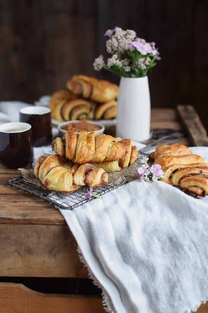 Zimtschnecken - Franzbroetchen - Hamburg Cinnamon Pastry Rolls (5)