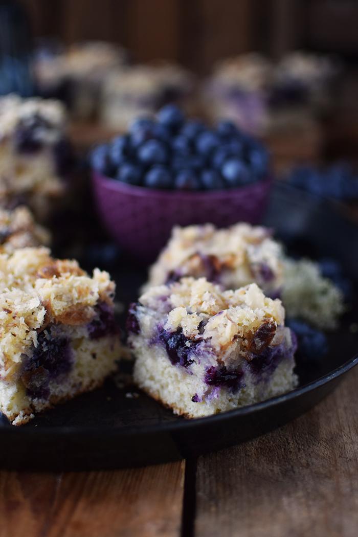 Buttermilch Blaubeer Kuchen - Familienrezept - Buttermilk Blueberry Sheet Cake (11)