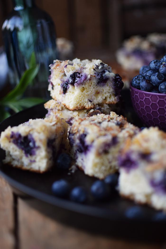 Buttermilch Blaubeer Kuchen - Familienrezept - Buttermilk Blueberry Sheet Cake (13)