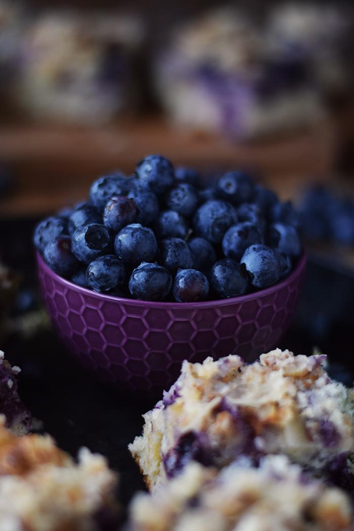 Buttermilch Blaubeer Kuchen - Familienrezept - Buttermilk Blueberry Sheet Cake (7)