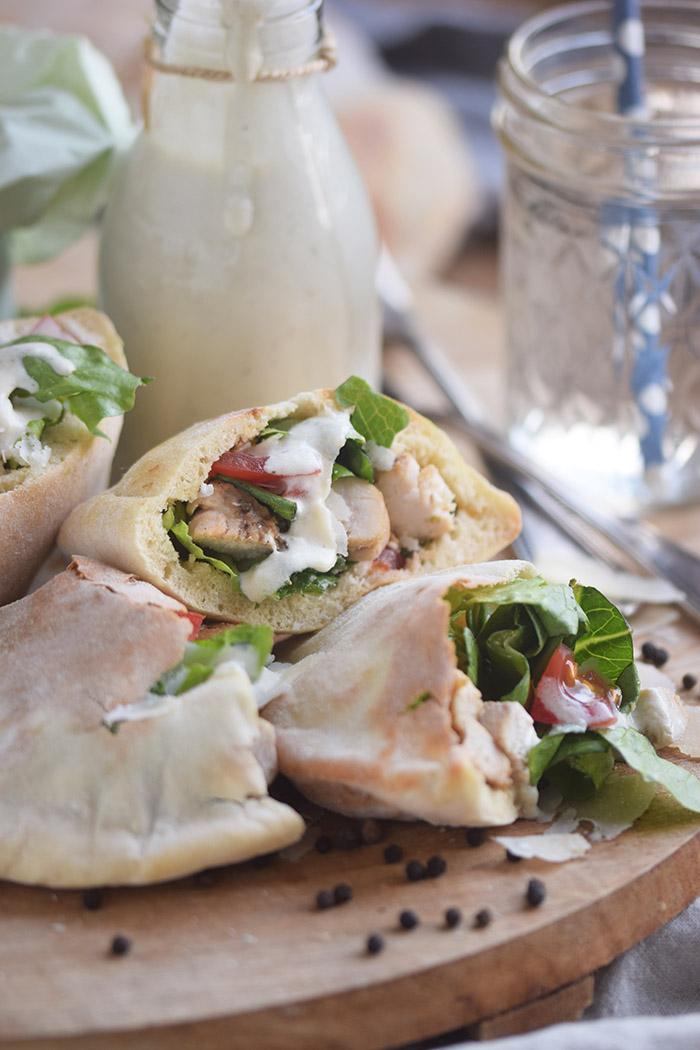 Caesar Salat Pitas - Caesar Salad Pita Bread (18)