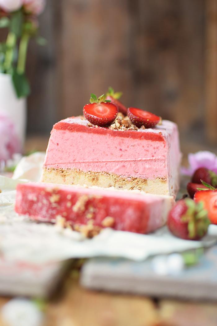 Erdbeer Pfirsich Parfait -Strawberry Peach Parfait (19)