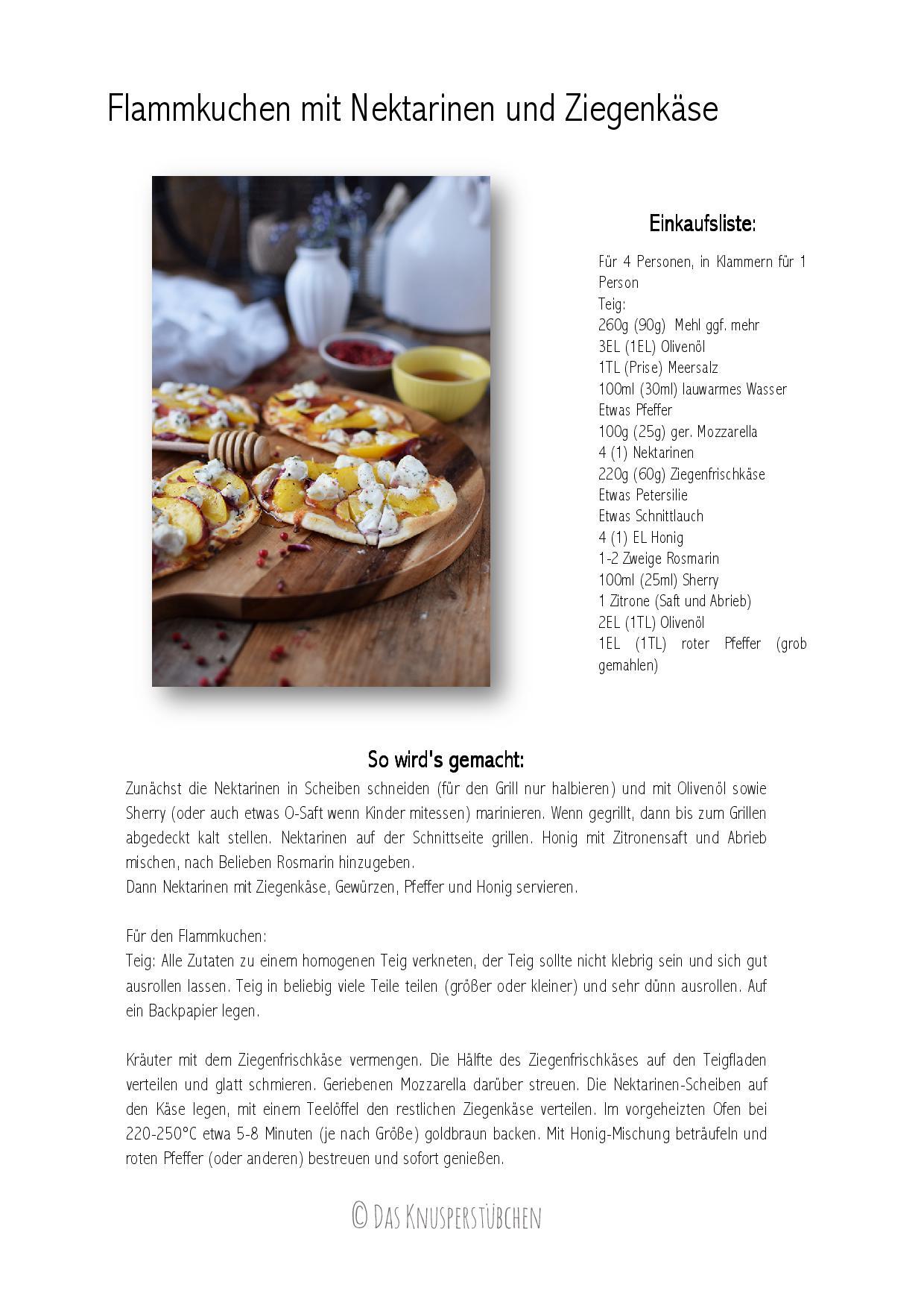 Flammkuchen mit Nektarinen und Ziegenfrischkaese-001