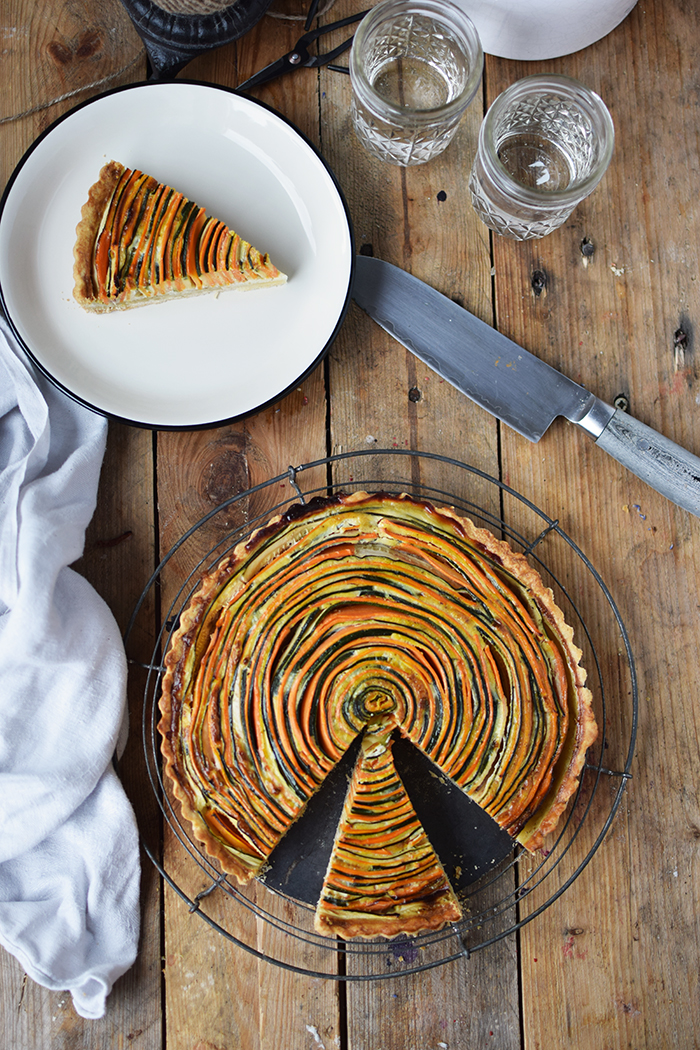 Gemuese Spiral Tarte - Vegetable Spiral Tart (11)