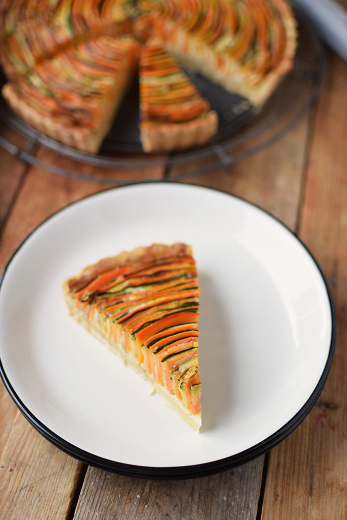 Gemuese Spiral Tarte - Vegetable Spiral Tart (15)