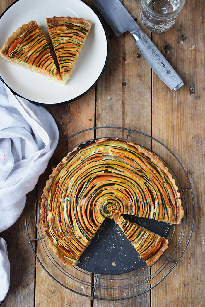 Gemuese Spiral Tarte - Vegetable Spiral Tart (23)