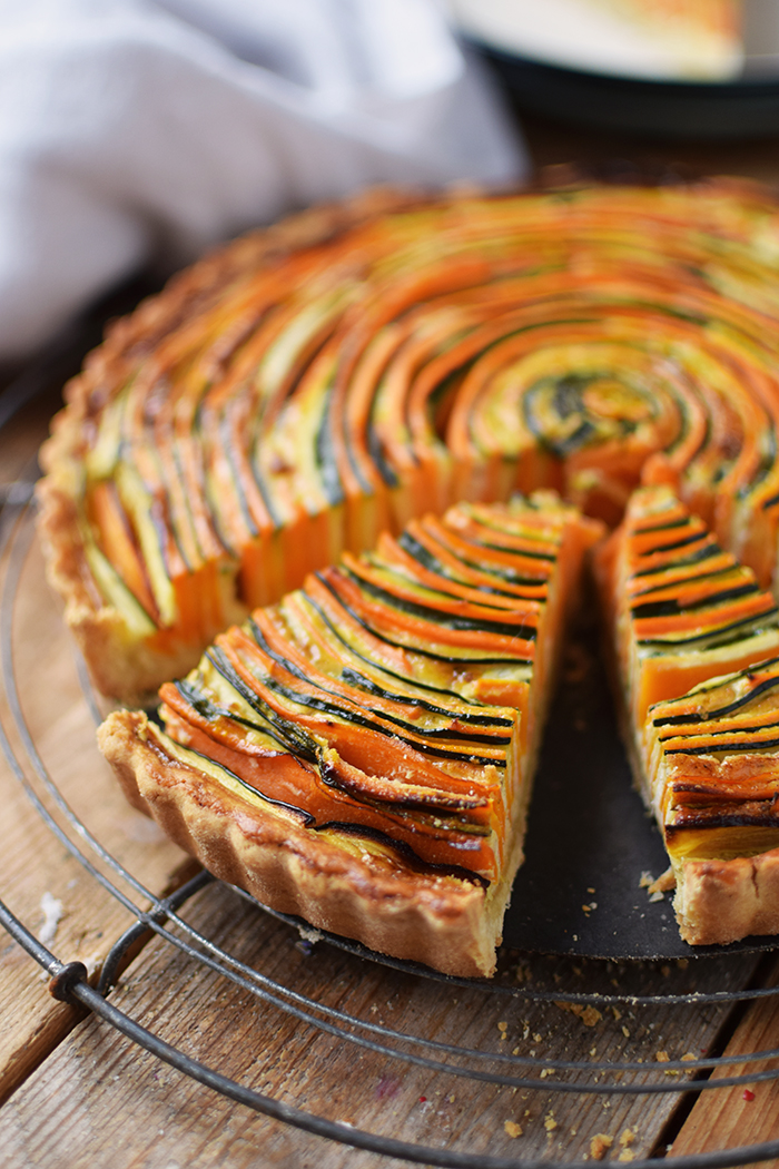 Gemuese Spiral Tarte - Vegetable Spiral Tart (27)