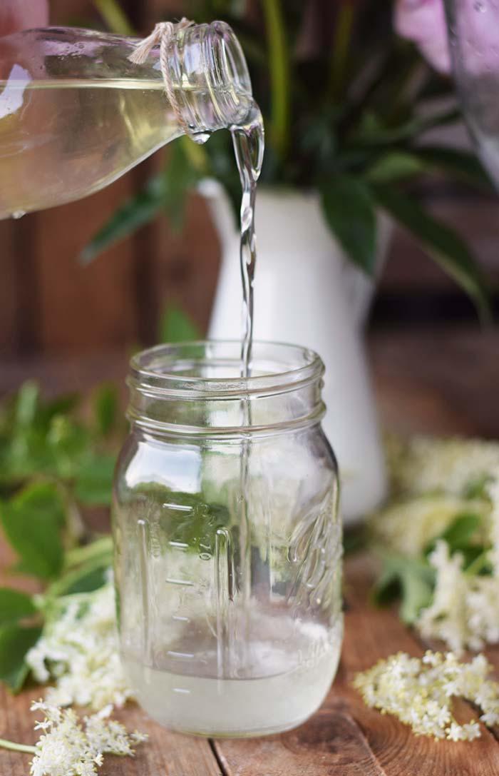 Holunderblueten Sirup & Schorle - Elderflower Cordial & Lemonoade (6)