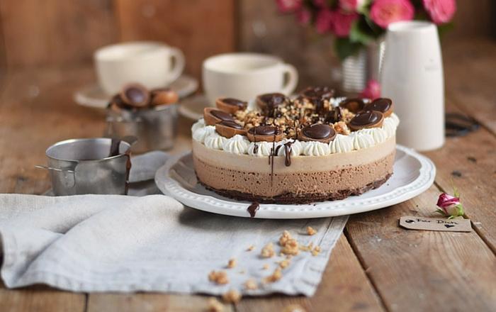 Toffifee Karamell Eistorte: Schokoladige Erfrischung