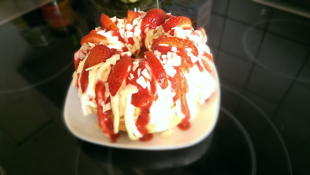 Anja Spaghetti Eis Torte 3