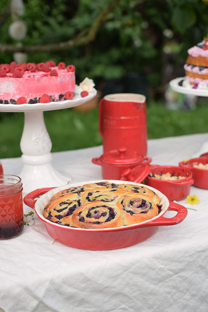 Beeren Schnecken mit Joghurt - Berry Summer Rolls with Yogurt (23)