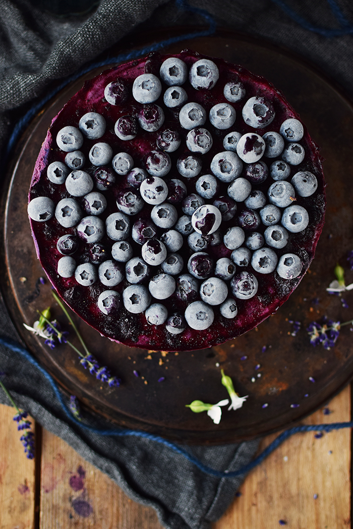 No Bake Blaubeer Cheesecake - No Bake Blueberry Cheesecake (9)