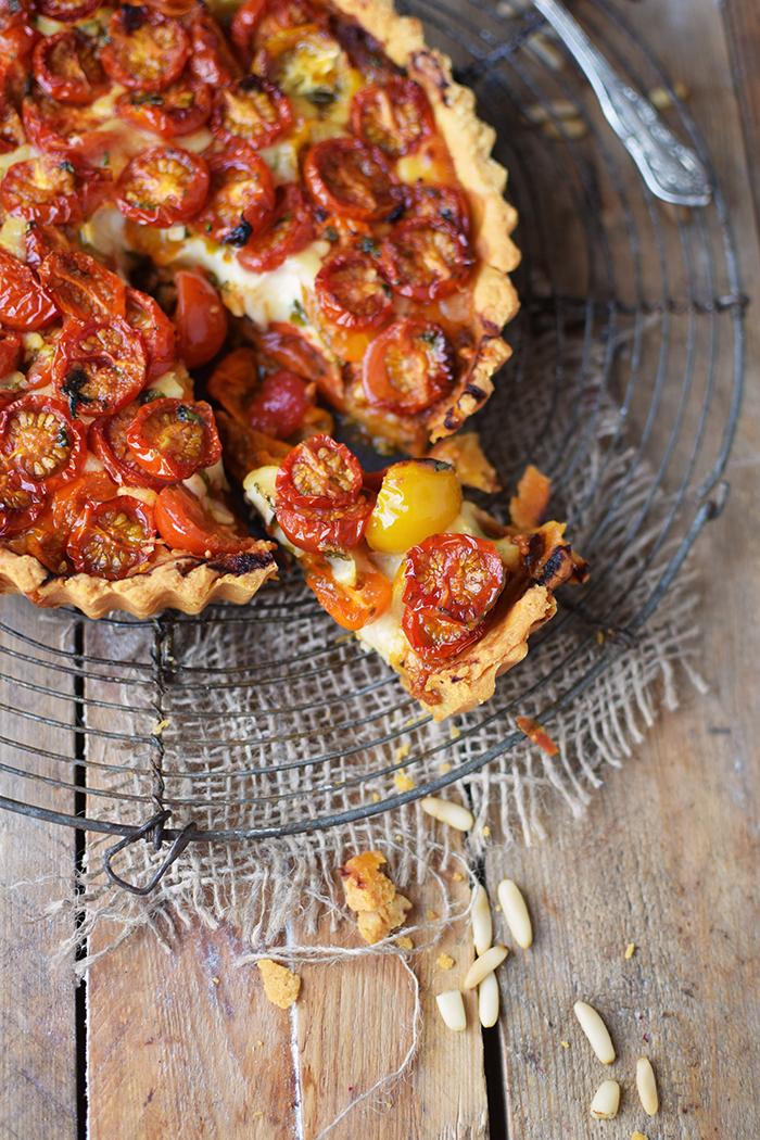 Tomaten Parmesan Tarte - Parmesan Tomato Tart (17)