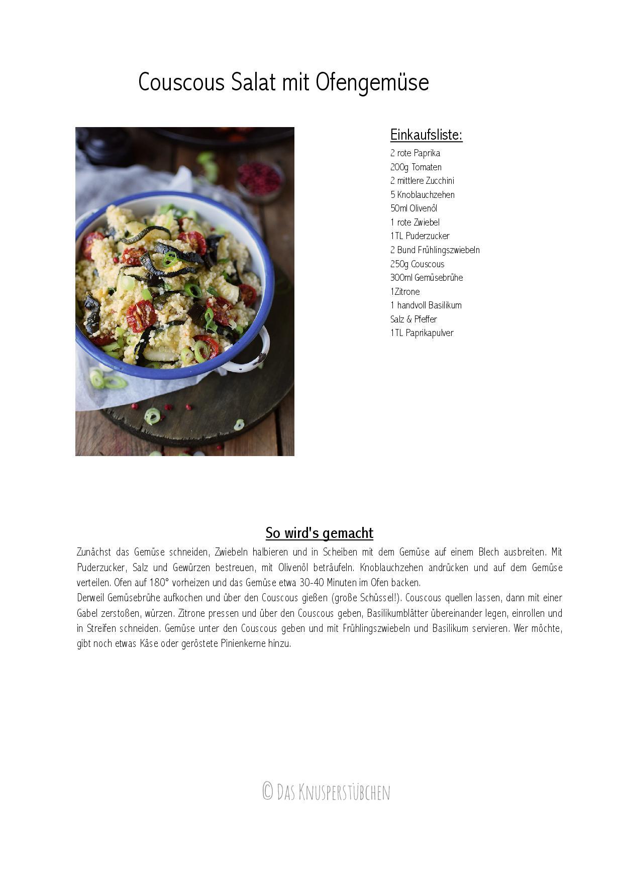 Couscous Salat mit Ofengemuese-001