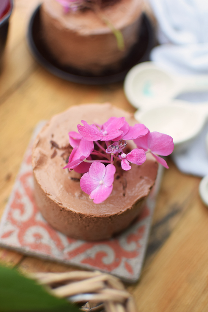 Geeiste Schoko Mousse mit Kirschen - Iced Chocolate Mousse with cherries (24)