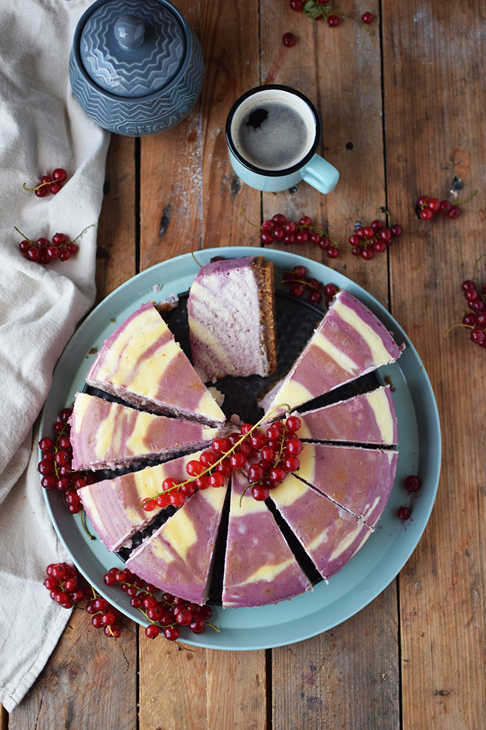 Johannisbeer Zebra Cheesecake - Red Currant Zebra Cheesecake (2)