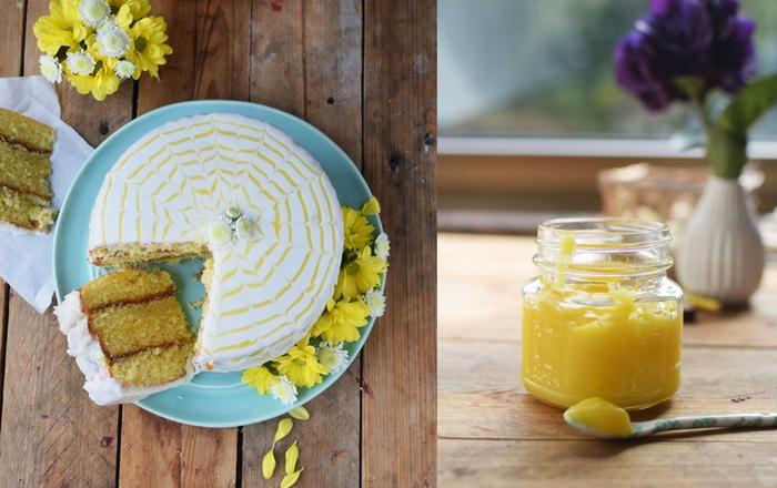 Lemon Curd Kuchen & Reise nach Irland (Werbung)