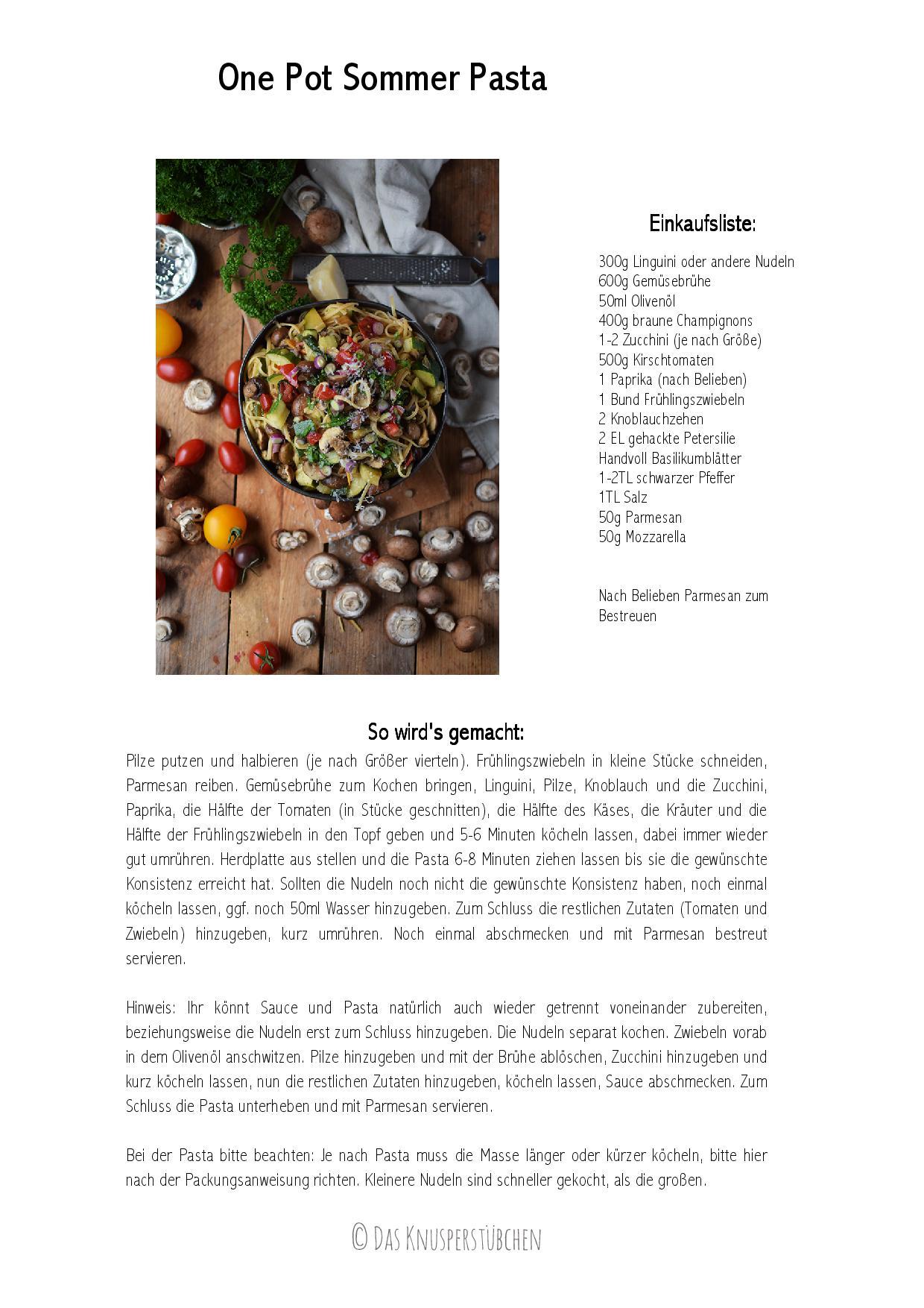 One Pot Sommer Pasta Rezept-001