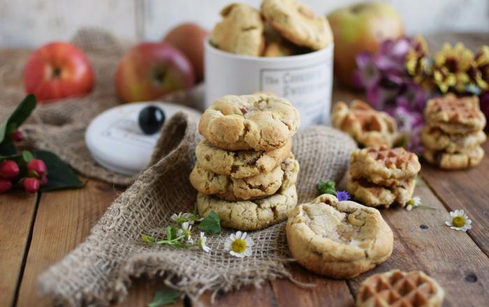 Apple Pie Pekan Cookies: Knusperherbstfreude