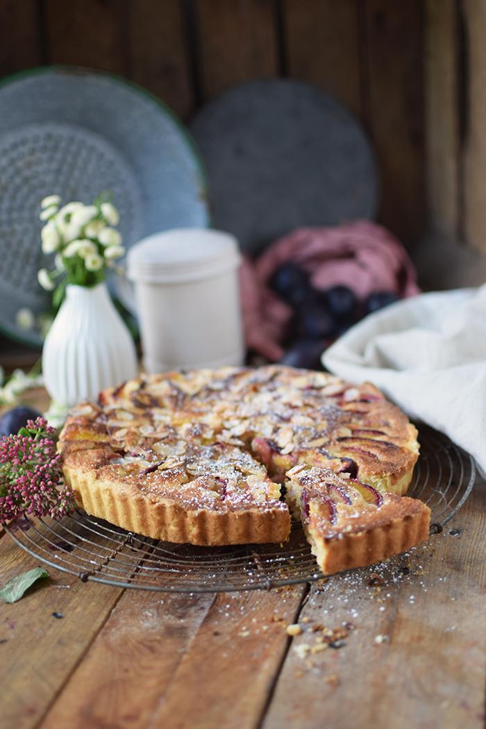 Pflaumen Mandelkuchen - Plum Almond Cake (10)