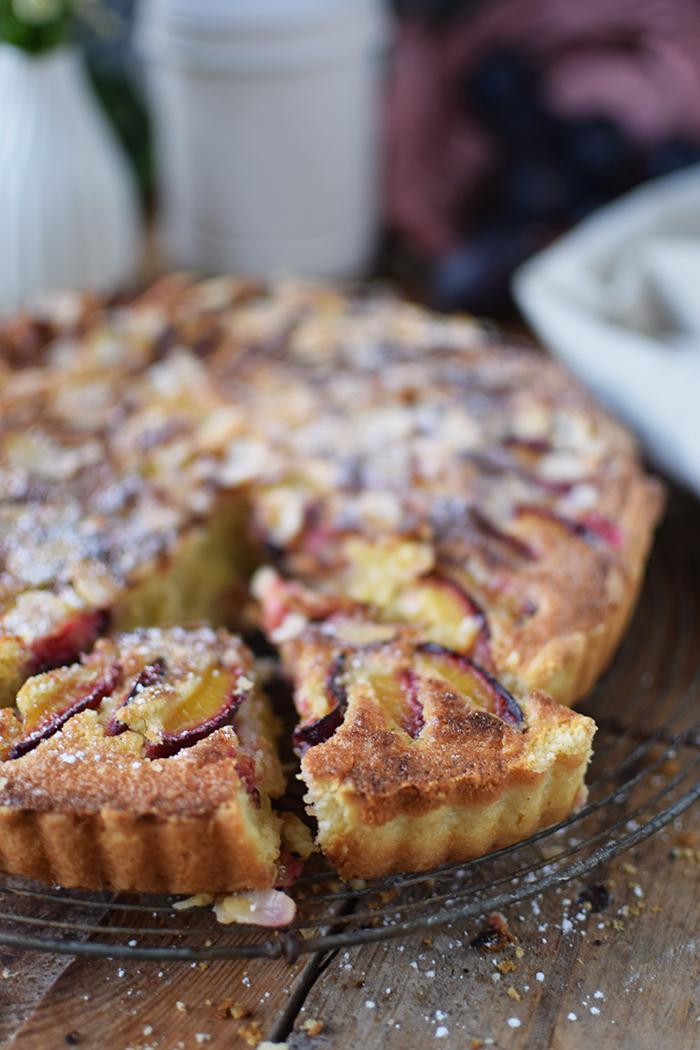 Pflaumen Mandelkuchen - Plum Almond Cake (13)