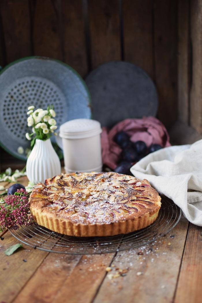 Pflaumen Mandelkuchen - Plum Almond Cake (7)