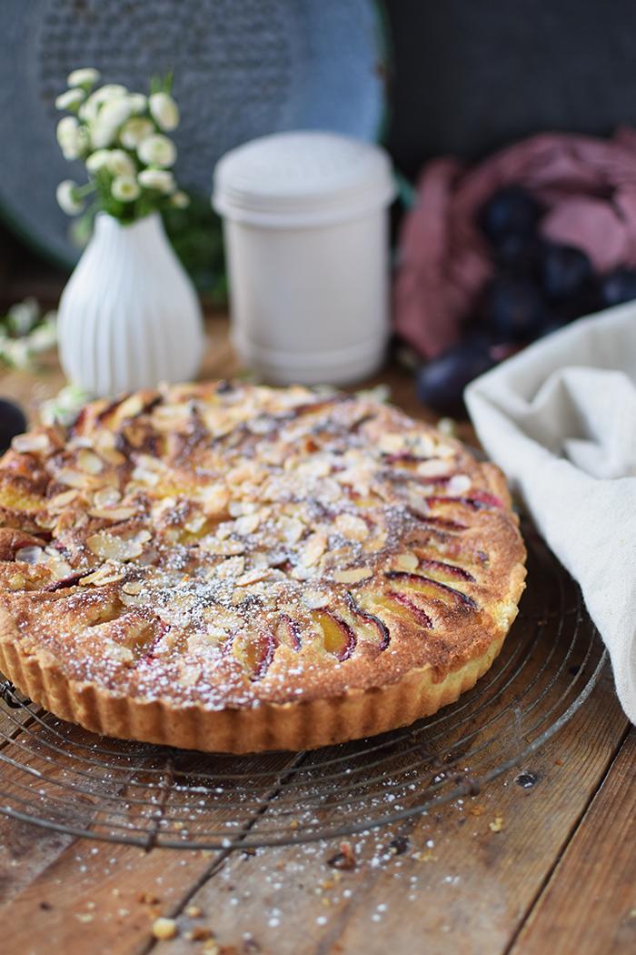 Pflaumen Mandelkuchen - Plum Almond Cake (8)