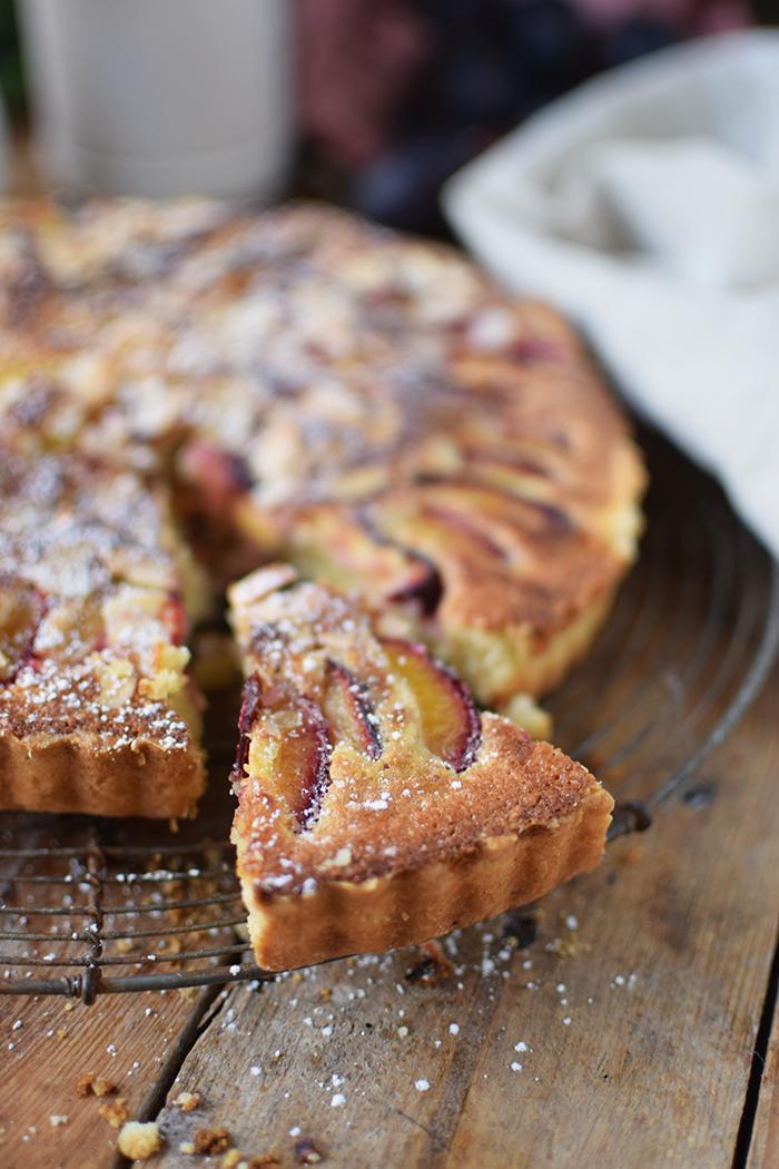 Pflaumen Mandelkuchen - Plum Almond Cake (9)