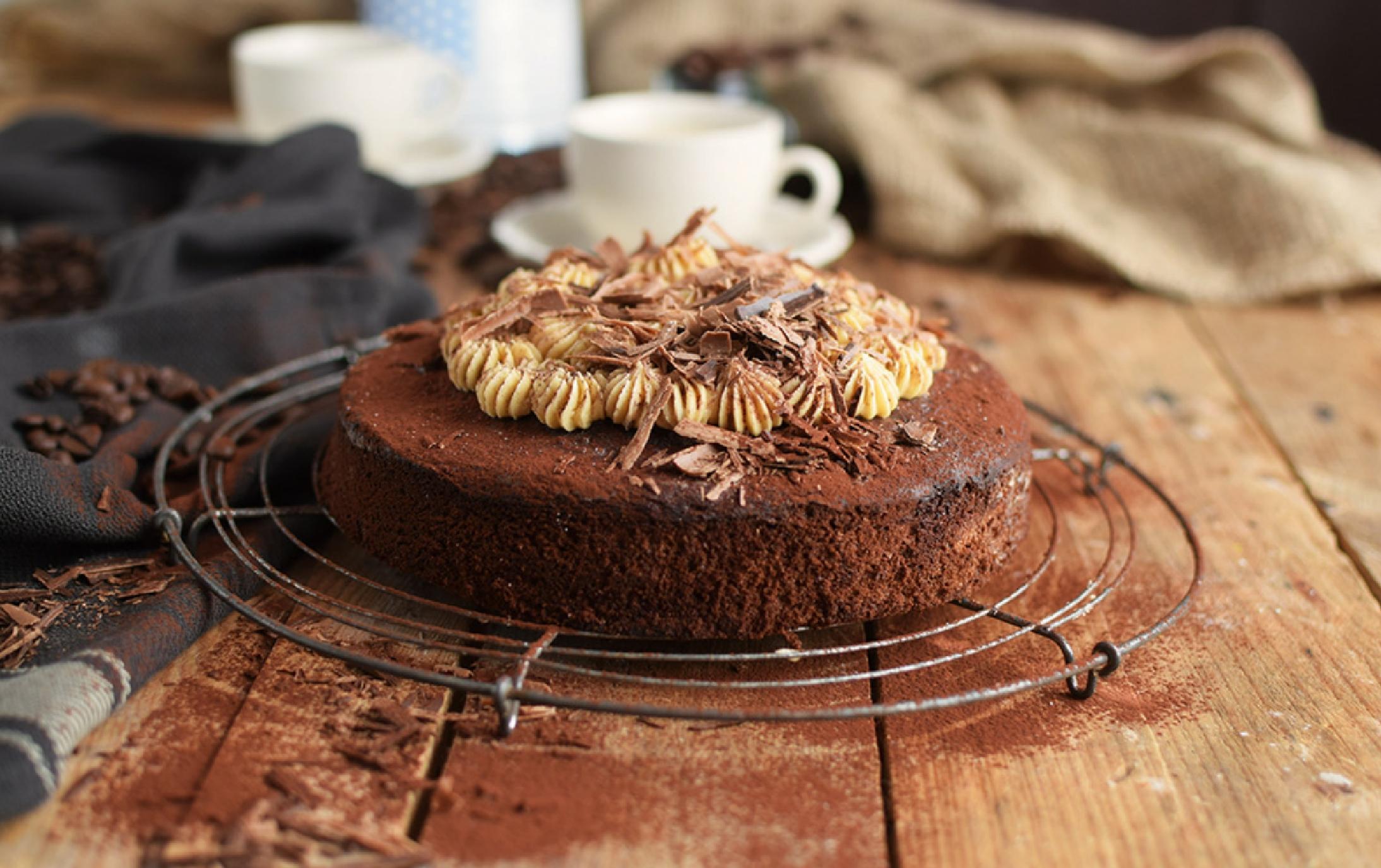 Espresso-Schokoladenkuchen: ein Seelenschmeichler