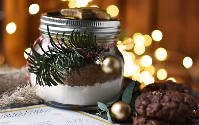 Weihnachts-Plätzchen Backmischung: 17. Türchen