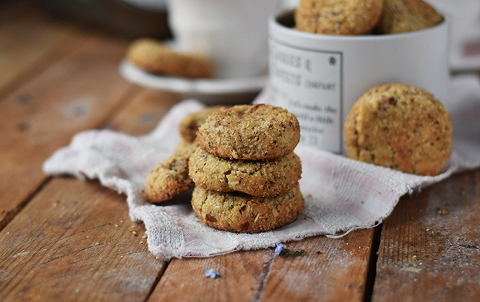 Mandel-Zimt-Kekse und ein Adventskalender (Werbung)
