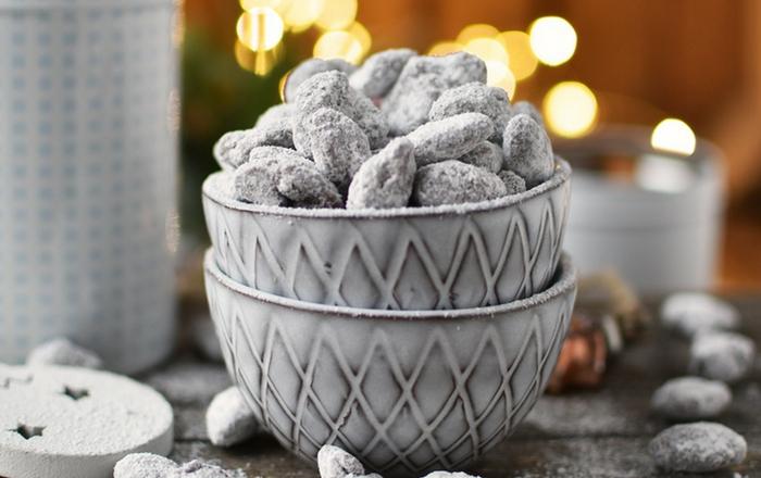 Schoko-Mandeln und andere Geschenke aus der Küche