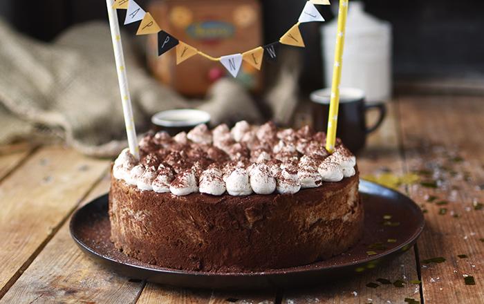 Mokka Cheesecake: ein Wachmacher zum neuen Jahr
