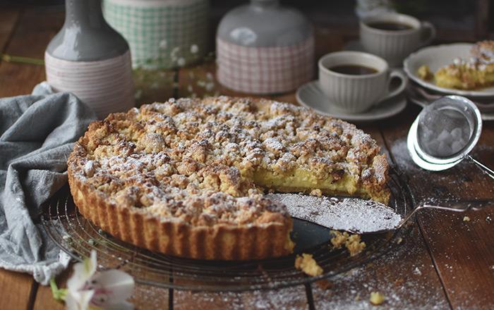Streusel-Pudding-Kuchen