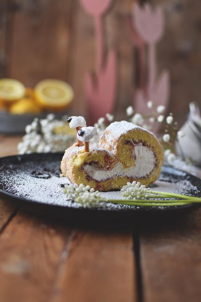 Biskuit-Zitronen-Schnecken: Nimm es SLAPPNA ⋆ Knusperstübchen