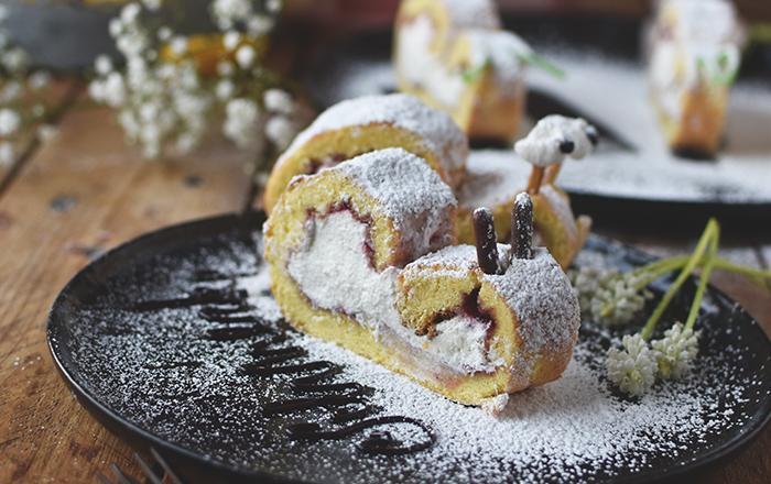 Biskuit-Zitronen-Schnecken: Nimm es SLAPPNA