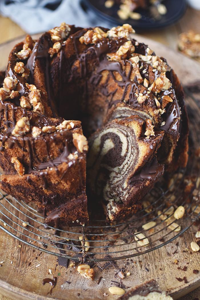 Erdnussbutter Brownie Gugelhupf Ein Klassiker Im Erdnussgewand