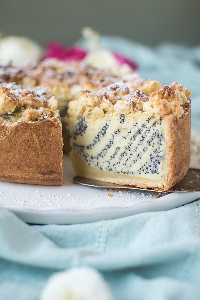 Joghurt Mohn Kuchen Frohe Ostern Knusperstubchen