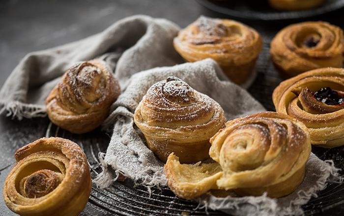 Cruffins mit Marmelade: Frühstücksglück