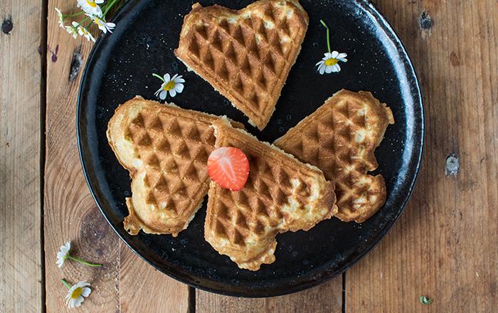 Waffelalarm: Frühstücksglück für zu Hause