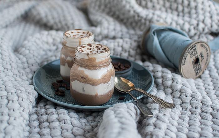 Eiskaffee-Mousse mit Schokokern & ein Dank für meinen Herzensmenschen