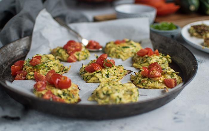 Zucchini-Ofentaler: Fünf Tage = Fünf Sommerrezepte