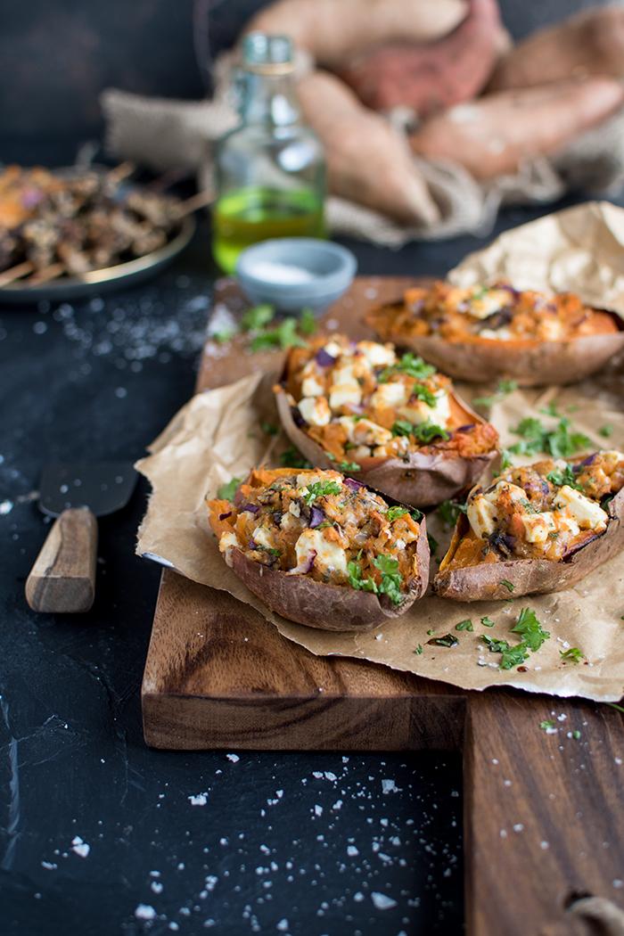 Doppelt Gebackene Ofen Susskartoffeln In Zusammenarbeit Mit Edeka