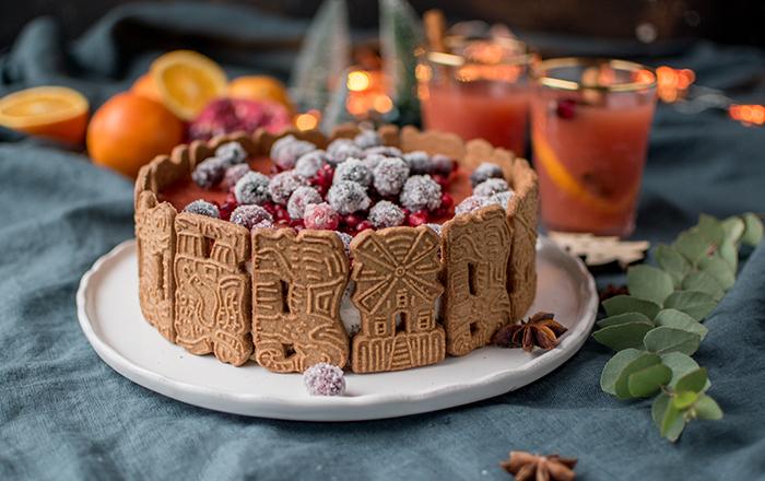 Zimt Mousse Torte