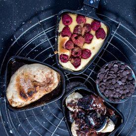 Raclette-Spezial: Süßes Pfännchen Schlemmen